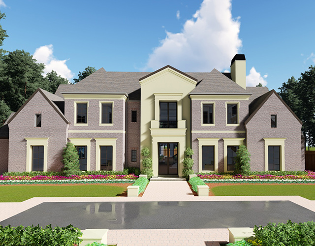 3D model of Tanglewood Transitional Estate