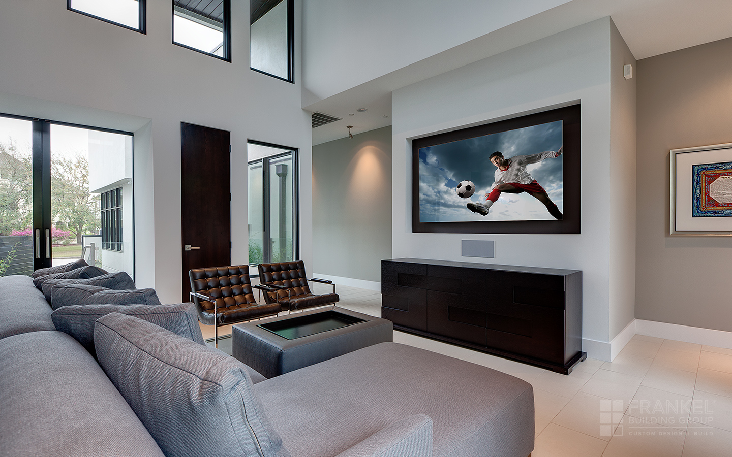 Bellaire Contemporary living room