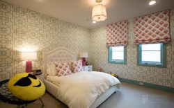 Briargrove Transitional kids bedroom