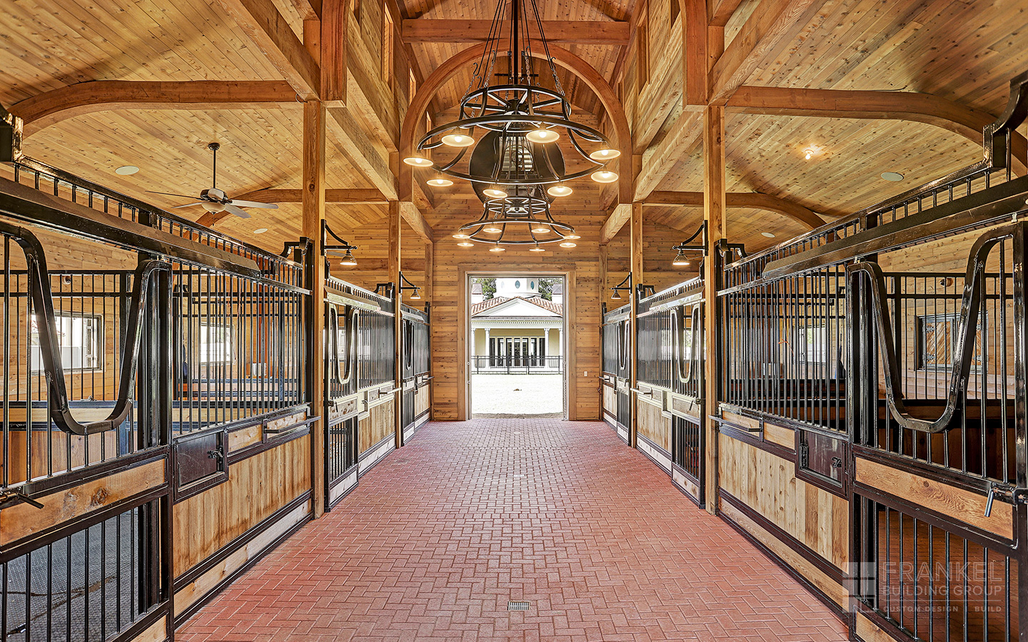 Memorial Palladian horse stables