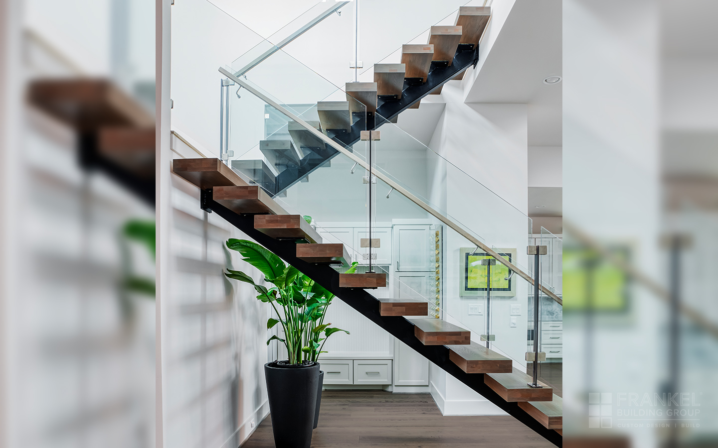 Tanglewood Contemporary stairway
