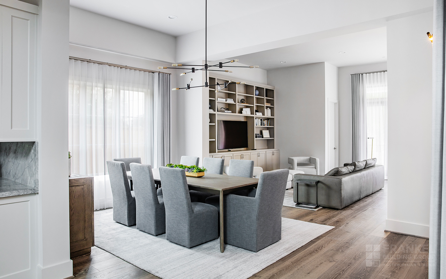 Tanglewood Contemporary formal dining room