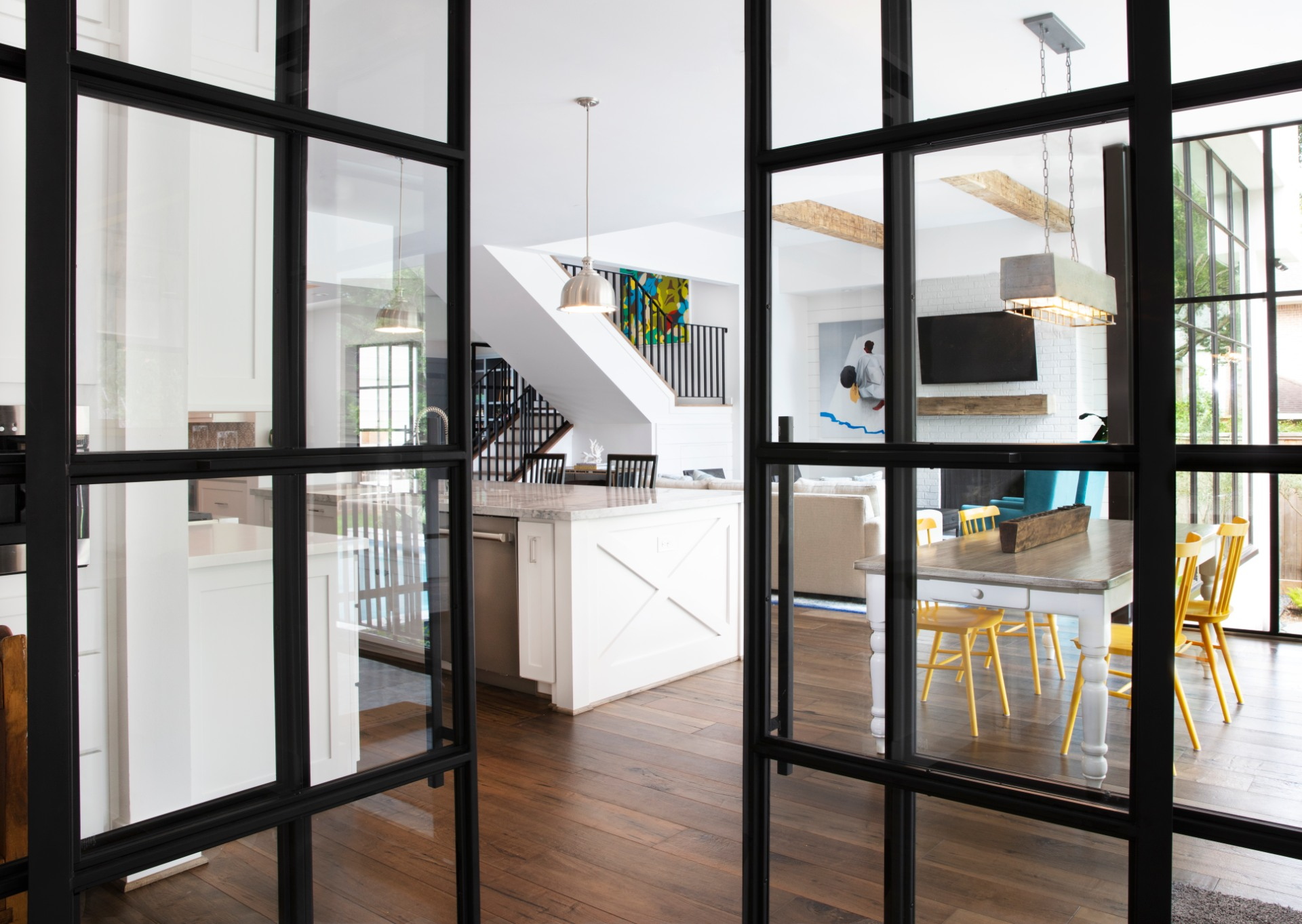 A Frankel home that boasts the company's patented Inlay door system