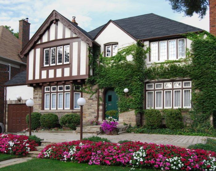 Tudor Home | Frankel Building Group